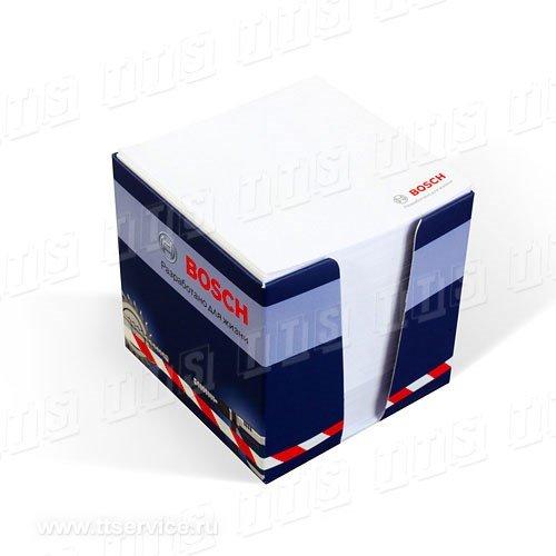 Бумажный блок 9х9х9 см в картонном диспенсере с печатью в 4 цвета