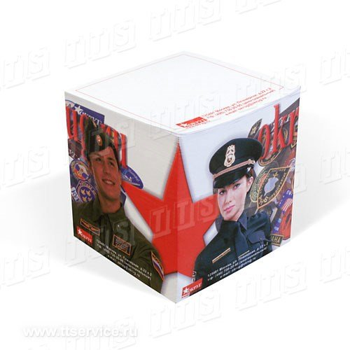 Куб 88х88х88 мм с фотоизображением на торцах и нанесением на листах