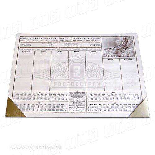 Планнинг настольный А2, А3 с уголками (кожа, к/заменитель, синтет. материалы)