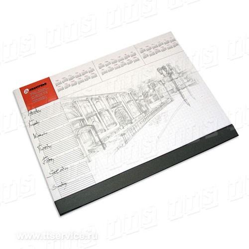 Планнинг-планшет с прижимной планкой. А2, А3, 60 листов