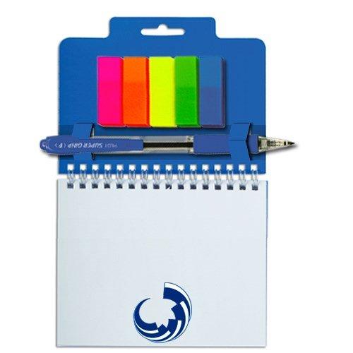 Блокнот + закладки + ручка