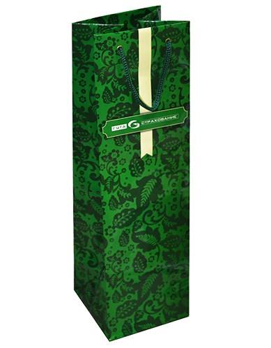 Пакет бумажный под шампанское 12x39x11,5