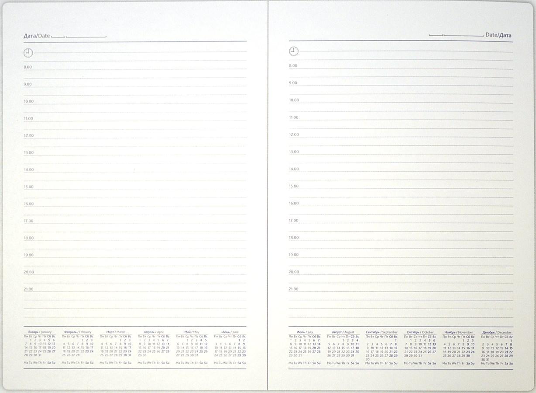 Блок ежедневника недатированного. (Арт. UND-1724-R)