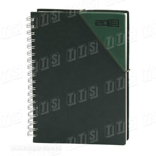 Ежедневник с обложкой и резинкой (Арт. 1156)