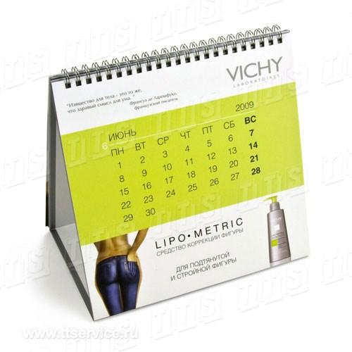 Календарь-домик с навивкой