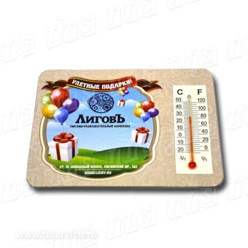 Магнит с термометром