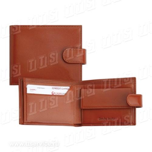 Бумажник кожаный 11x9x1,5 см. (Арт. 2221)